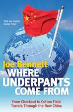Where Underpants Come From: From Checkout to Cotton Field – Travels Through the New China