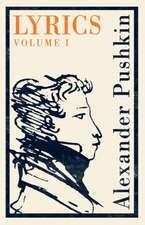 Lyrics: Volume 1 (1813-17)
