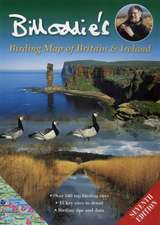 Bill Oddie's Birding Map of Britain and Ireland