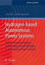 Hydrogen-based Autonomous Power Systems: Techno-economic Analysis of the Integration of Hydrogen in Autonomous Power Systems