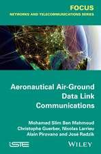 Aeronautical Air–Ground Data Link Communications