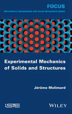 Experimental Mechanics of Solids and Structures