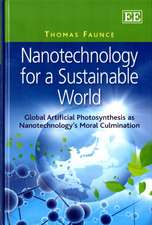 Nanotechnology for a Sustainable World
