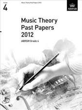 Music Theory Past Papers 2012, ABRSM Grade 4