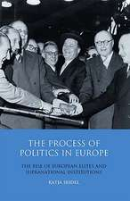 The Process of Politics in Europe: The Rise of European Elites and Supranational Institutions
