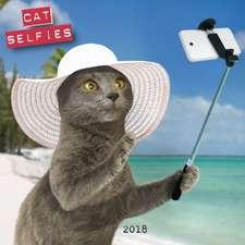 Cocken, P: Cat Selfies 2018 Calendar