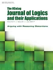 Ifcolog Journal of Logics and their Applications.   Volume 4, number 6.  Arguing with Reasoning Distortions