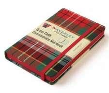 Waverley (L): Caledonia Tartan Cloth Large Notebook