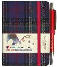 Hunting Tartan: Mini Notebook with Pen; 10.5 x 7.5cm: Scottish Traditions: Waverley Genuine Tartan Cloth Commonplace Notebook