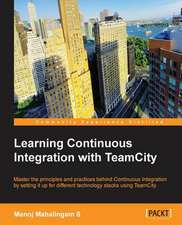 Learning Continuous Integration with Teamcity:  Advanced Editing and Publishing Techniques