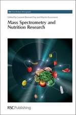 Mass Spectrometry and Nutrition Research:  Rsc