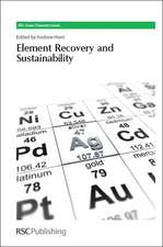 Element Recovery and Sustainability:  Rsc