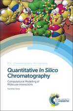Quantitative in Silico Chromatography:  Computational Modelling of Molecular Interactions