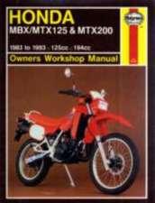 Honda Mbx/Mtx125 & Mtx200 (83 - 93)