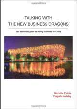 Talking With The New Business Dragons
