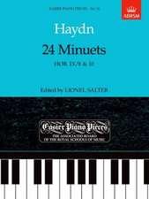 24 Minuets, Hob.IX/8 & 10: Easier Piano Pieces 16