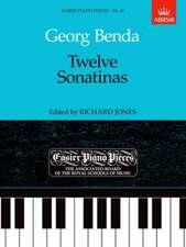 Twelve Sonatinas: Easier Piano Pieces 47