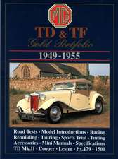 MG TD-TF 1949-1955:  Gold Portfolio
