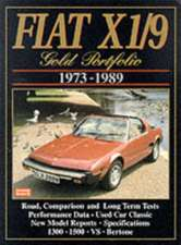 Fiat X1/9 Gold Portfolio 1973-1989:  Owners' Edition