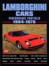 Lamborghini Cars 1964-1976 Performance Portfolio:  A Brooklands Portfolio