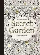 Johanna Basford's Secret Garden Postcards