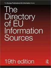 The Directory of EU Information Sources 2010