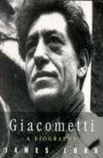 Giacometti: A Biography