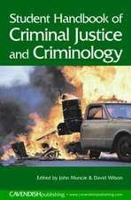 Student Handbook of Criminal Justice and Criminology