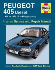 Peugeot 405 Diesel Service and Repair Manual: Peugeot 405 Diesel (88 - 97) E to P