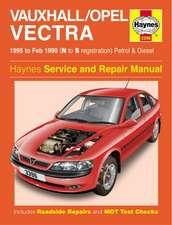 Vauxhall/Opel Vectra Petrol & Diesel (95 - Feb 99) N To S: Vauxhall/Opel Vectra Petrol & Diesel (95 - Feb 99) N to S