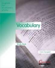 EAS Vocabulary Study Book