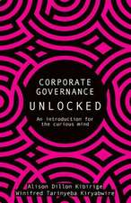 Corporate Governance Unlocked
