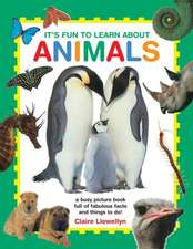 It's Fun to Learn about Animals:  A Busy Picture Book Full of Fabulous Facts and Things to Do!