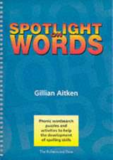 Aitken, G: Spotlight on Words Book 1