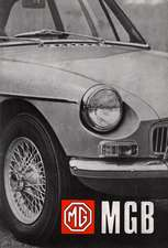 MG MGB Tourer (GHN4) and GT (GHD4) Handbook:  Thinkers of Our Time
