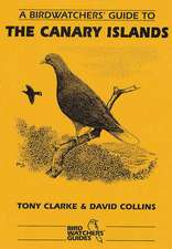 Collins, D: A Birdwatchers' Guide to the Canary Islands