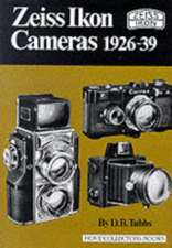 Zeiss Ikon Cameras 1926-39:  Selected Poems