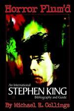 Horror Plum'd:  International Stephen King Bibliography & Guide 1960-2000 - Trade Edition