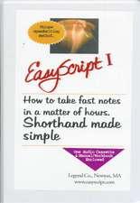 Easyscript 1 - Beginner 2 (40 Wpm)
