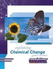 Explaining Chemical Change