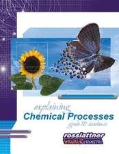 Explaining Chemical Processes