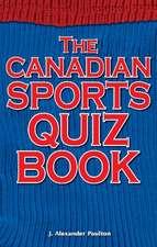 Canadian Sports Quiz Book
