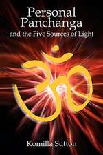 Personal Panchanga and the Five Sources of Light:  The Hellenistic Legacy