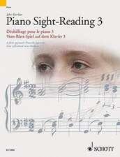 Piano Sight-Reading 3/Dechiffrage Pour Le Piano 3/Vom-Blatt-Spiel Auf Dem Klavier 3: A Fresh Approach/Nouvelle Approche/Eine Erfrischend Neue Methode