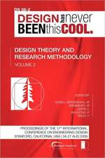 Proceedings of Iced'09, Volume 2, Design Theory and Research Methodology:  Journey to the Voids