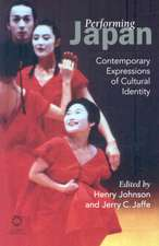 Performing Japan: Contemporary Expressions of Cultural Identity