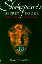 Shakespeare's Secret Booke