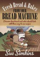 Fresh Bread And Bakes From Your Bread Machine