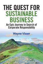 Quest for Sustainable Business