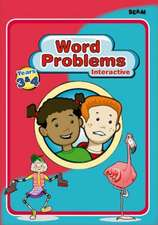 Word Problems Interactive Years 3 & 4